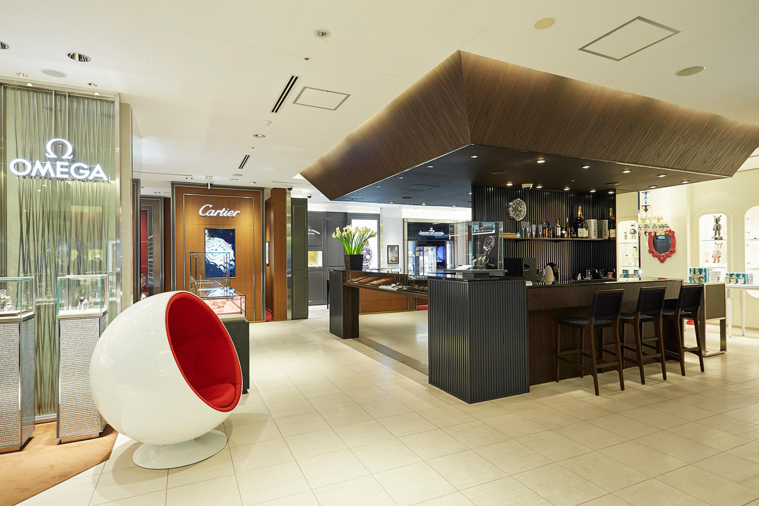 jagger associates services provided by interior designers ジャガー・ルクルトの、敢えてシンプルモデルを選ぶ